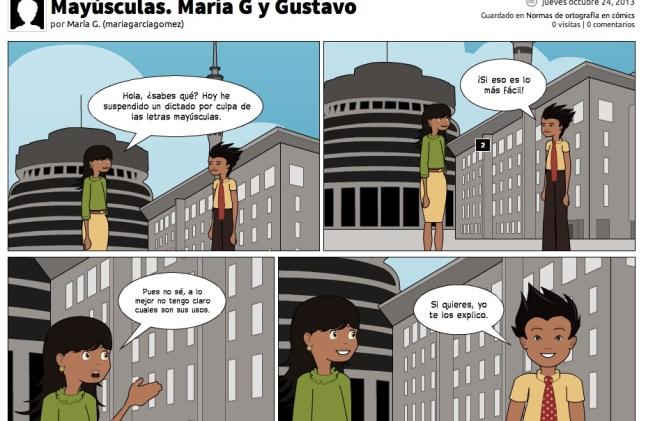 Mayúsculas (María y Gustavo)