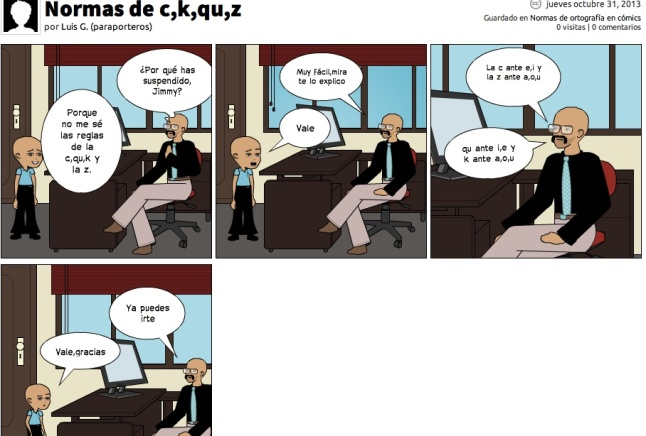 Normas de la c,z,k,qu